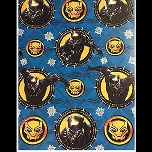 Marvel Black Panther Gift Wrapping Paper 60 sq ft
